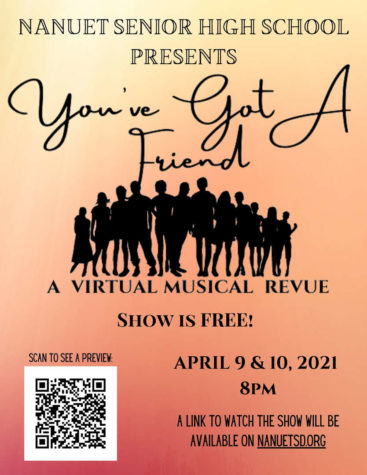 Nanuet Drama Club to Stream Spring Musical Review Youve Got a Friend This Weekend